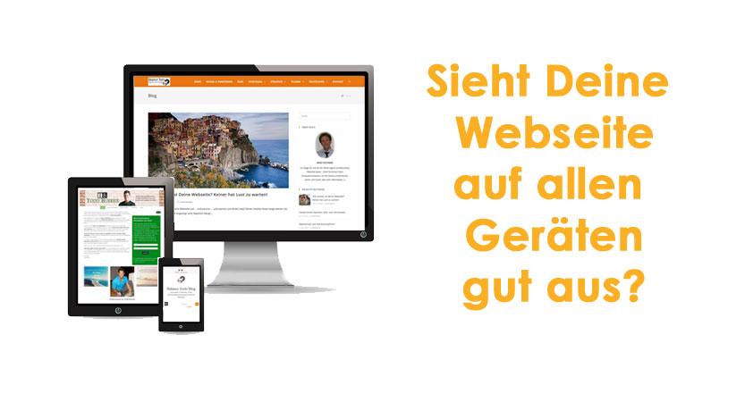 Sieht Deine Webseite auch auf Smartphones gut aus?