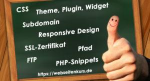 Webseite-CSS-SSL-Responsive-Design