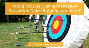 Ziel-deiner-webseite